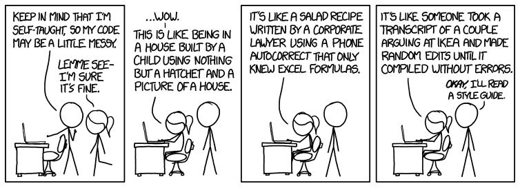 XKCD Calidad código